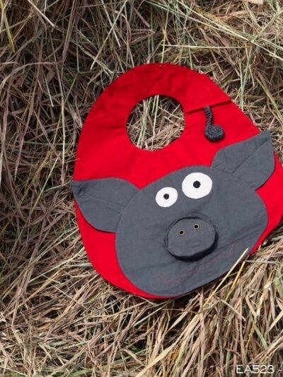 Bavoir cochon, Poudre de Perlimpinpin, www.LaTribu.shop