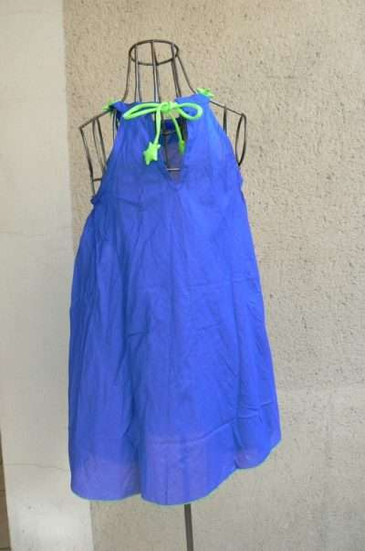 Robe voie lactée, Bleu, Poudre de Perlimpinpin, www.LaTribu.shop (2)