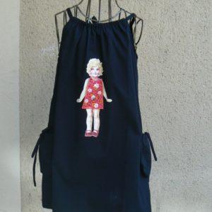 Robe poupée, Robe Poudre de Perlimpinpin, www.LaTribu.shop