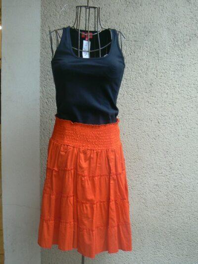 Jupe Baudel, Orange, Blabla, LaTribuDistrib.com