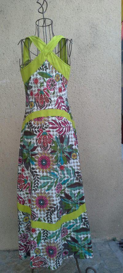 Robe Kali Longue, Sarah green, Kaliyog, LaTribuDistrib.com (3)