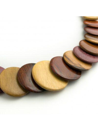 Bijoux en bois, Collier Omega, Multibois, LaTribuDistrib1440