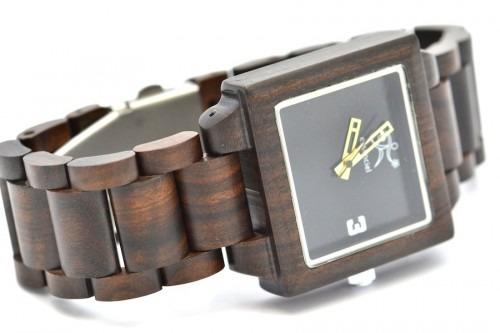 Montre en bois, Sacha, Ebène, LaTribu.shop (2)