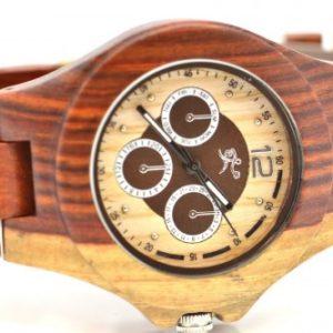Montre en bois, Patrick, Erable et palissandre, www.LaTribu.shop (2)