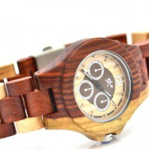 Montre en bois, Patrick, Erable et palissandre, www.LaTribu.shop (3)