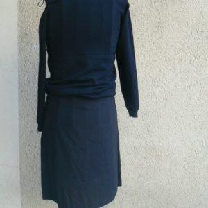 Jupe zip, Noir, Saya, LaTribuDistrib.com