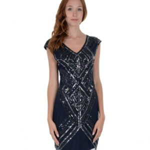 Robe-sequins-art-deco Molly Bracken, LaTribuDistrib.com