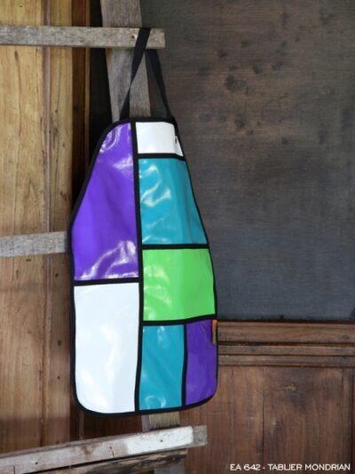 Tablier Mondrian, Poudre de Perlimpinpin, www.LaTribu.shop
