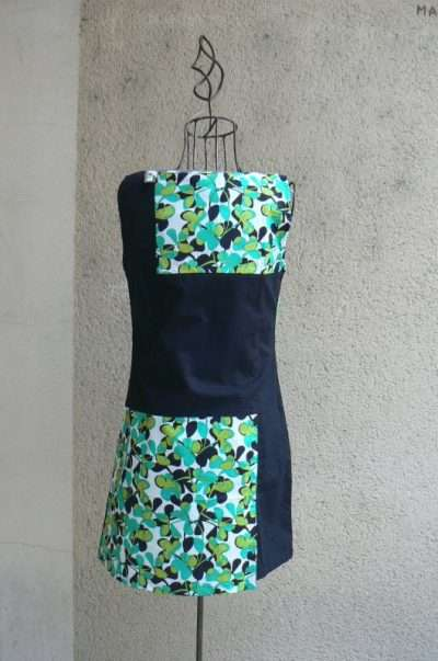 Robe tunique Tin, Lubi green, Kaliyog, www.LaTribu.shop