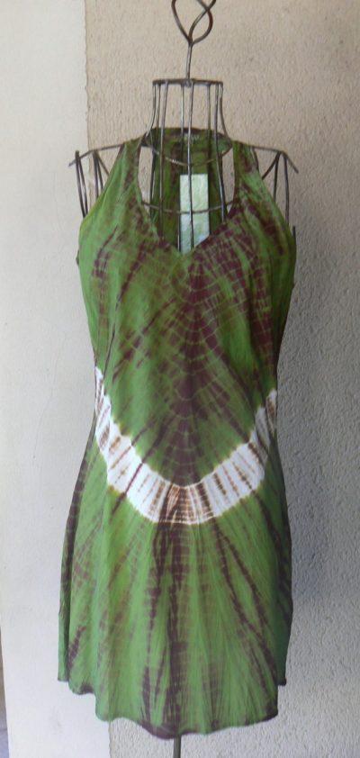 118fcd23038 Robe tunique Pénélope Kaliyog (T-D vert) • LaTribu.shop