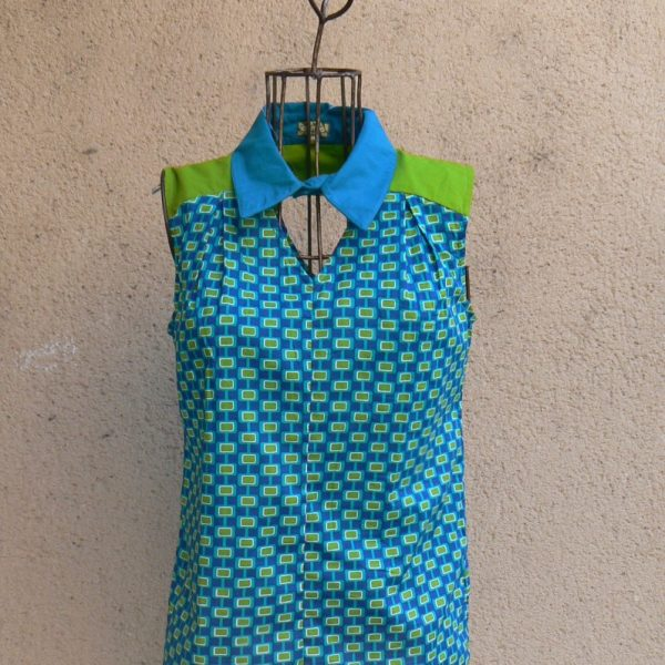 Top Coka, Mod Blue, Kaliyog, www.latribu.shop