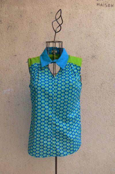 Top Coka, Mod Blue, Kaliyog, www.latribu.shop