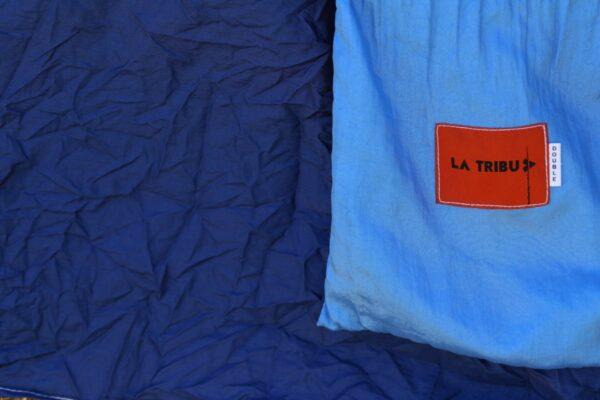 Hamac en toile de parachute, Bleu www.latribu.shop