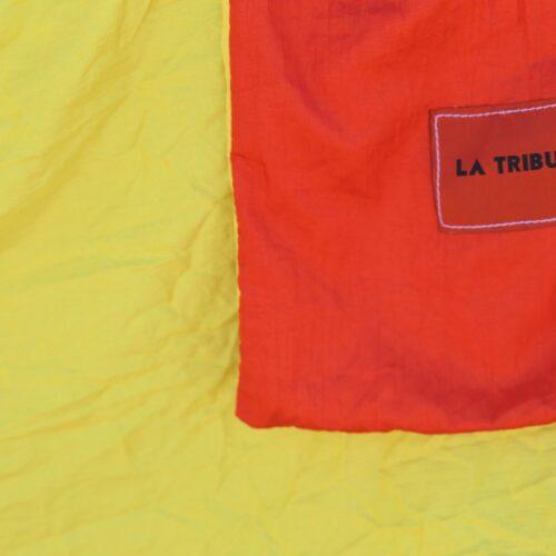 Hamac en toile de parachute, Jaune orange www.latribu.shop