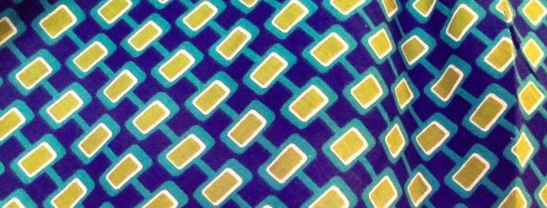 Tissu Mod Blue, www.latribu.shop