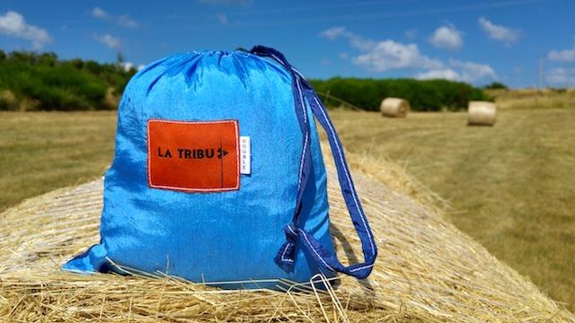 Hamac en toile de parachute www.latribu.shop