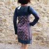 blini dress bubble grey kaliyog www.latribu.shop