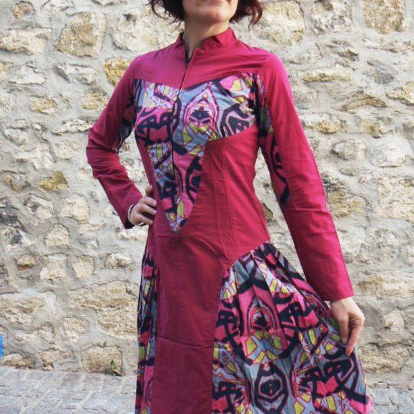 nalia dress red kaliyog www.latribu.shop