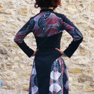 nalia dress wax grey kaliyog www.latribu.shop