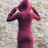 naomi dress bordeaux kaliyog www.latribu.shop