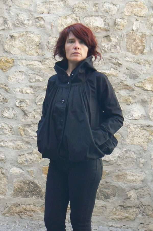ninja jacket black kaliyog www.latribu.shop