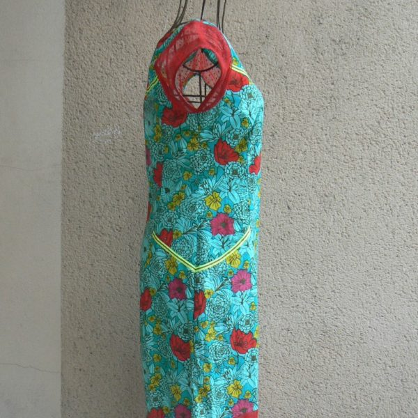 robe coca kaliyog dai blue kaliyog www.latribu.shop