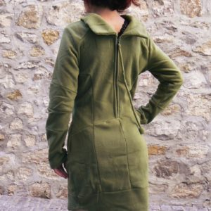 robe rumba green kaliyog www.latribu.shop