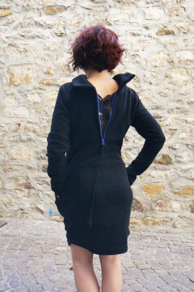 robe rumba black kaliyog www.latribu.shop