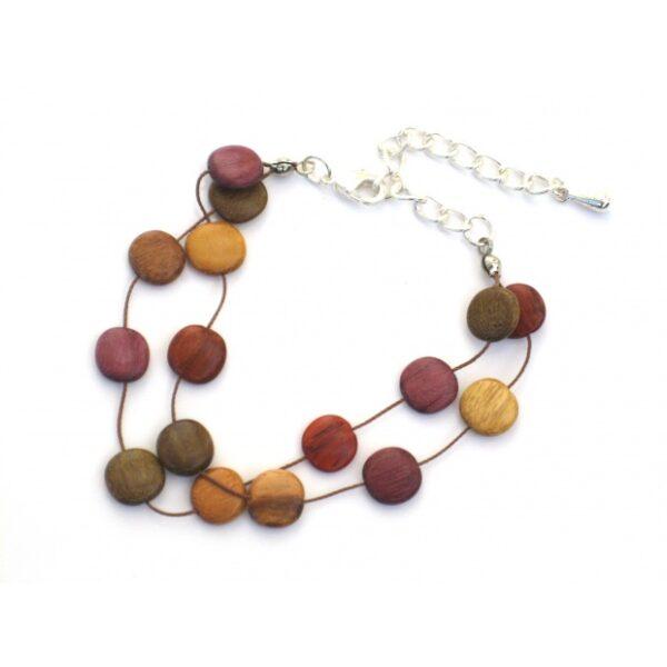 Bijoux en bois, Bracelet Tagua, Multibois, www.LaTribu.shop