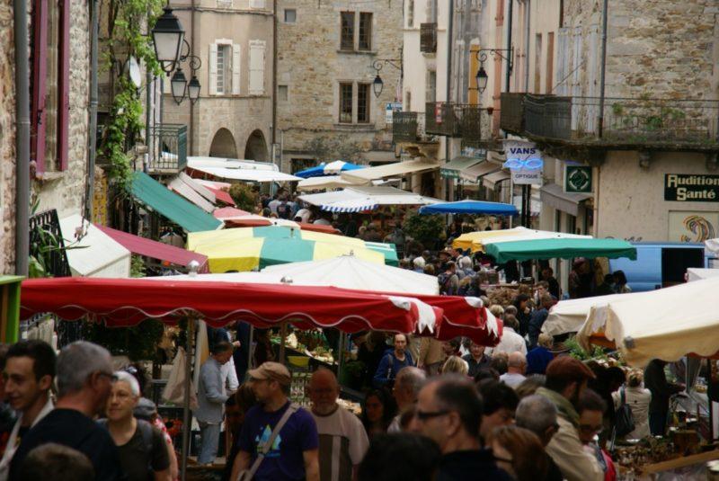 La rue du marché, à voir, à faire !