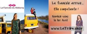 La Fiancée du Mékong banderole, www.LaTribu.shop