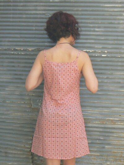 Robe Fiancée, La Fiancée du Mékong, Kadrille vieux rose, www.LaTribu.shop