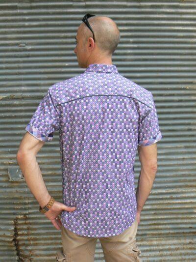 Chemise homme, Baisap, Graphique, www.LaTribu.shop