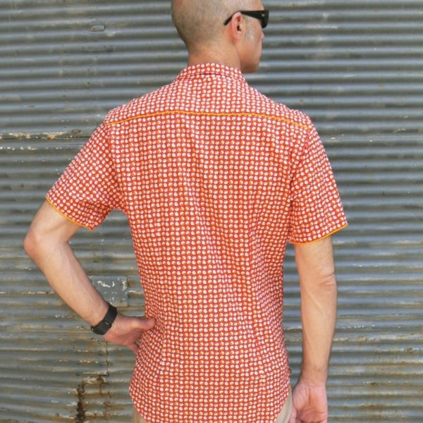 Chemise homme, Kali Yog, Red dot, www.LaTribu.shop (1)