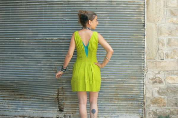 Robe Hibu, Lime, Kali Yog, www.LaTribu.shop (3)