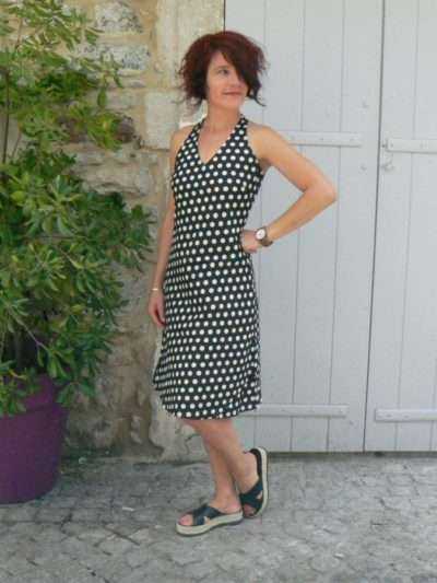 Robe Penelope, Bla-Bla, Black dot, www.LaTribu.shop (1)