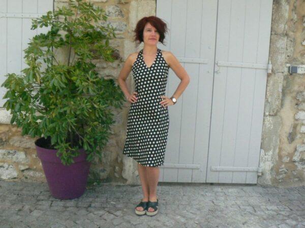 Robe Penelope, Bla-Bla, Black dot, www.LaTribu.shop
