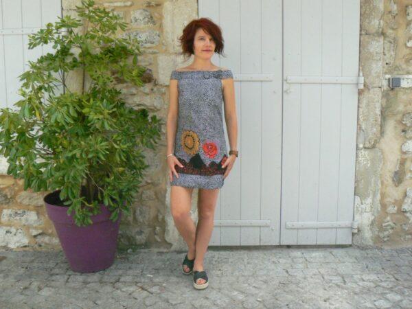 Robe courte Iris, Bla-Bla, www.LaTribu.shop