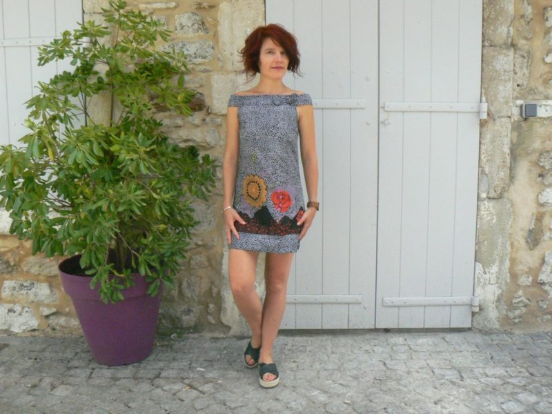 Robe courte Iris, Bla-Bla, www.LaTribu.shop