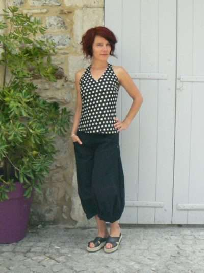 Top Penelope, Bla-Bla, Black dot, www.LaTribu.shop