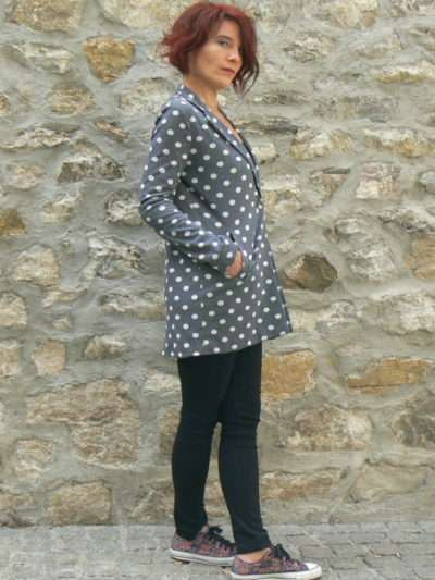 Manteau Molly Bracken à pois, www.LaTribu.shop