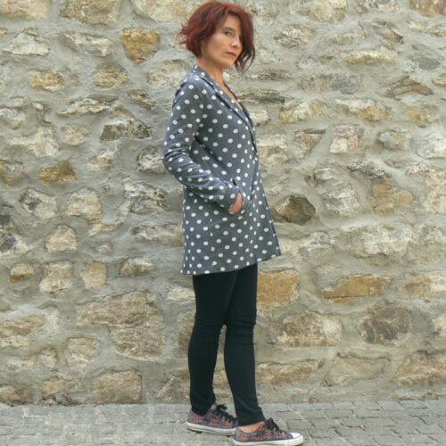 Manteau Molly Bracken à pois, www.LaTribu.shop