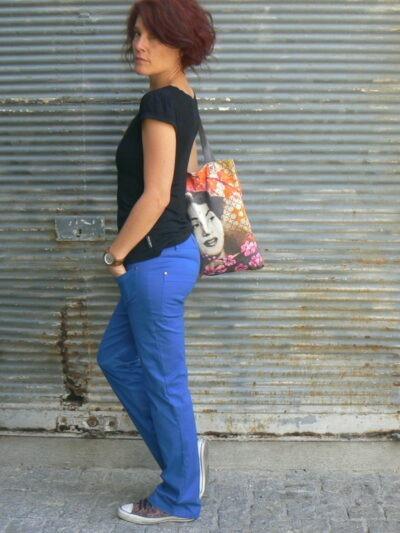 Pantalon, Princesse Nomade, Bleu, www.LaTribu.shop