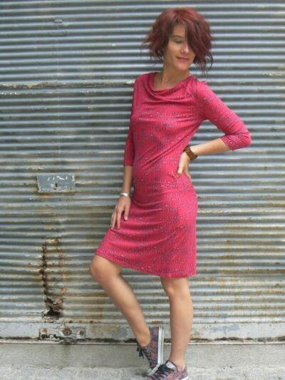 Robe Archipel, La fiancée du Mékong, Hozo cerise, www.LaTribu.shop (3)