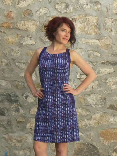 Robe Dill, Kali-Yog, Indigo dot, www.LaTribu.shop (4)