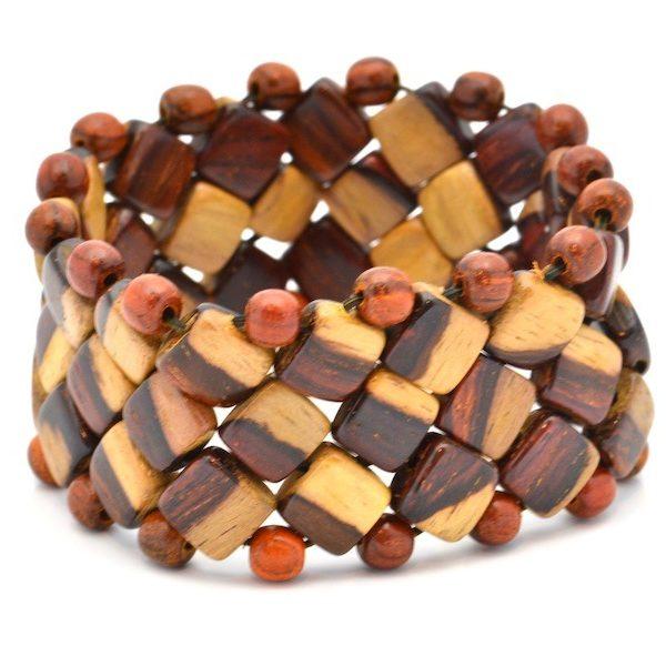 Bracelet Bi-bois, Charline, www.LaTribu.shop