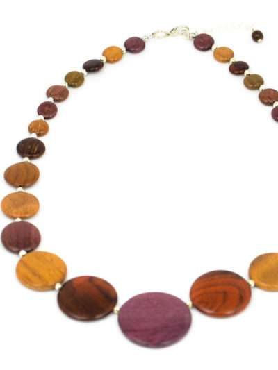 Collier Multibois, Gammia, www.LaTribu.shop