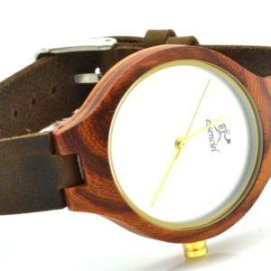 Montre en bois Kate, Palissandre et cuir, www.LaTribu.shop (2)