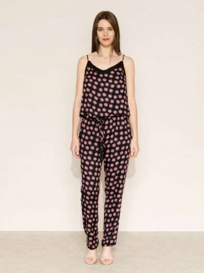 Combi pantalon la Fiancée du Mékong, Thelya, Aditi black, www.LaTribu.shop