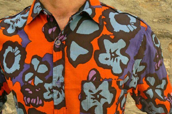 Chemise homme Kali Yog Mangui, Big flo, www.LaTribu.shop